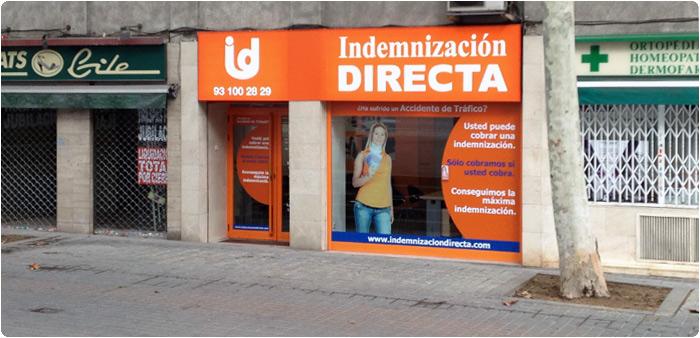 Barcelona meridiana indemnizaci n directa for Oficina trafico sabadell